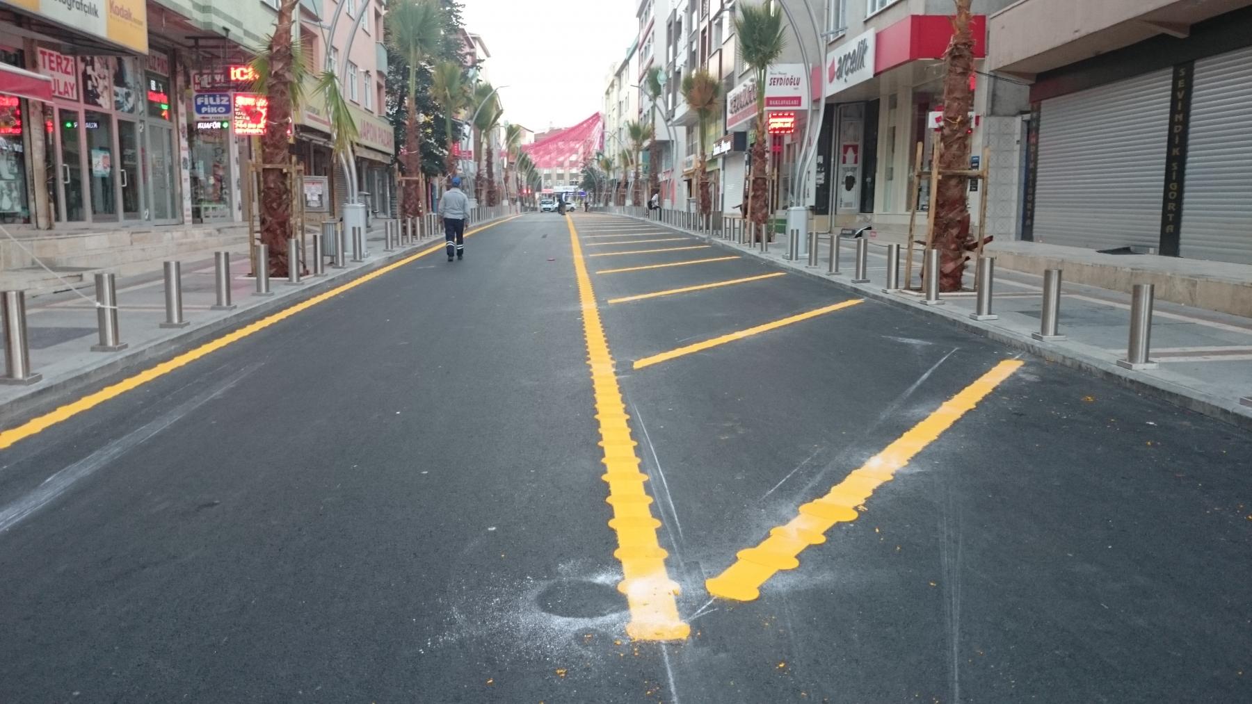 Yolsan Trafik Işaretleri Yol çizgileri Otopark çizgileri Otopark